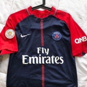 Boys Nike Paris Saint Germain 2017 Soccer Foot Top